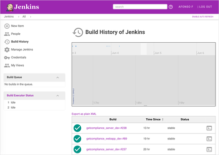 Jenkins Theme - jenkins-material-theme